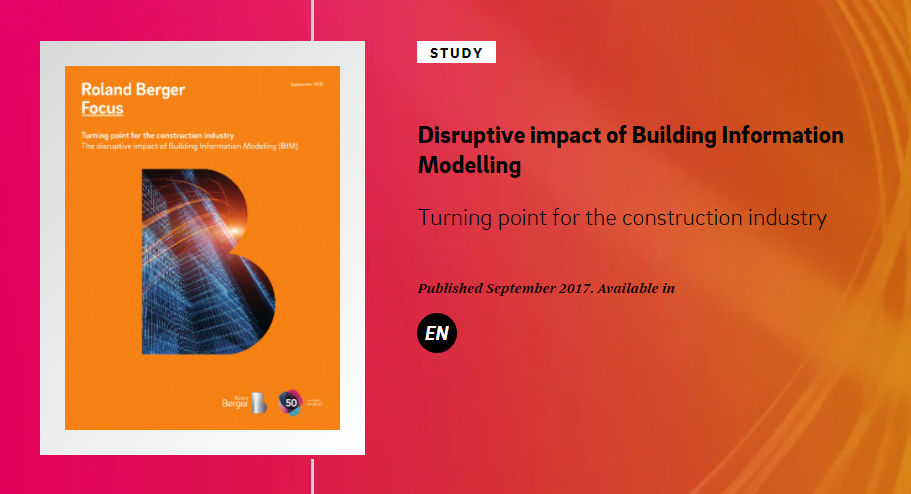 The disruptive impact of Building Information Modeling (BIM)